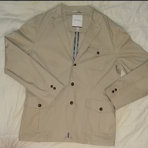 Nautica khaki overcoat